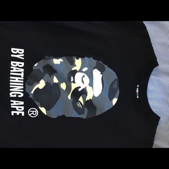 59979ee1 Bape Shirts | Bathing Ape Shirt Large | Poshmark